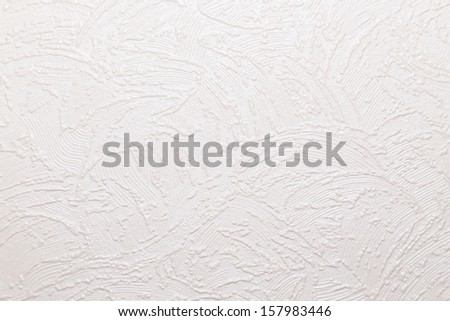 texture of white wallpaper #157983446