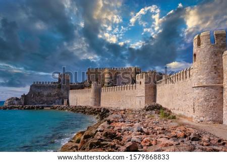 Anamur Castle in Mersin Turkey. #1579868833