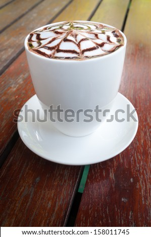 Beverage at any time of the coffee shop #158011745