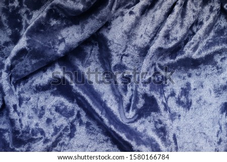 Textile.Abstract trendy background.Blue trendy colors of year 2020.  #1580166784