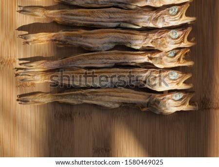 Korean dried fish little pollack #1580469025
