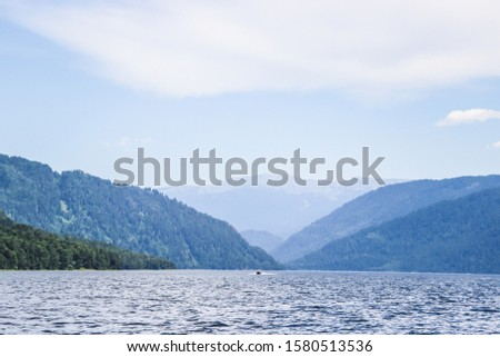 Altay Telezkoye lake beautiful mountains, green trees, pines, breathtaking views, landscapes and panoramas Russia  #1580513536