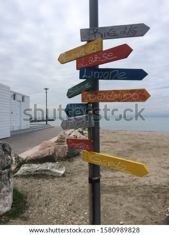 Italian signs pointers and signboards #1580989828