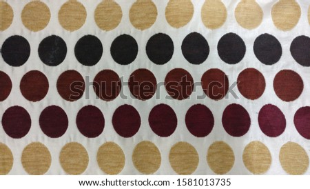 Black brown and light brown polka dots background  #1581013735