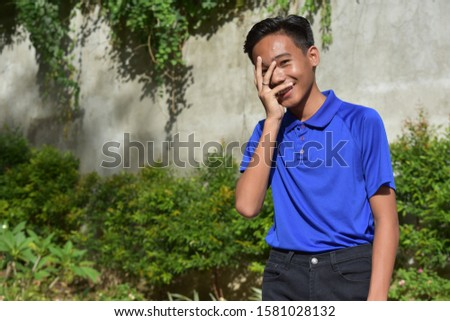 A Bashful Youthful Filipino Male #1581028132