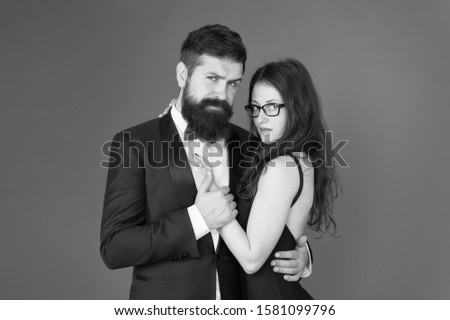 Dating together. Couple in love dating. Bearded man and sensual woman on date. Dating romantic relationship. Love and romance. Dating and courtship. #1581099796