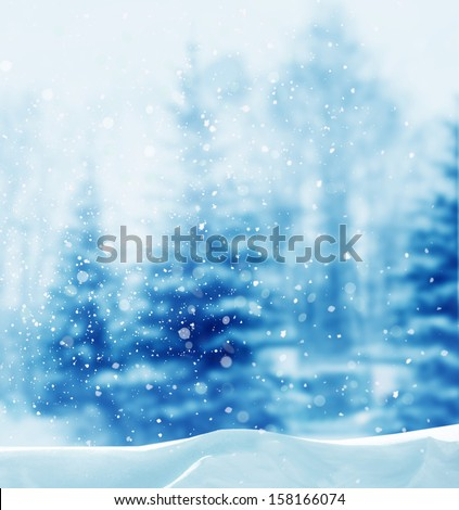 winter background Royalty-Free Stock Photo #158166074