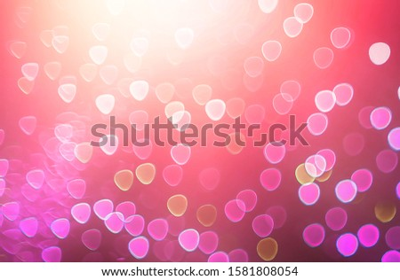 Blurred backdrop, blurred background, circle blur, bokeh blur from the light shining through as a backdrop and beautiful computer screen images. #1581808054