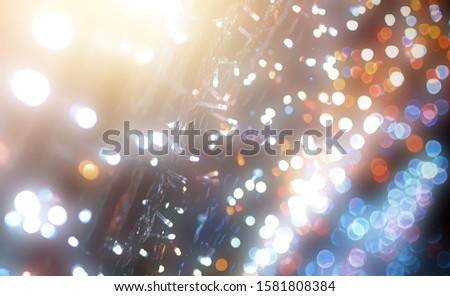 Blurred backdrop, blurred background, circle blur, bokeh blur from the light shining through as a backdrop and beautiful computer screen images. #1581808384