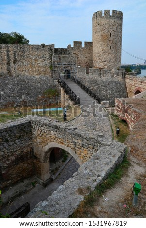 Belgrade fortress and Kalemegdan park, Serbia. #1581967819