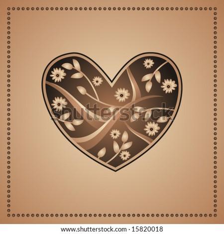 Decorative heart #15820018