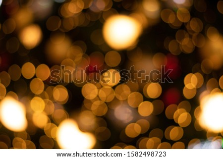 blurred bokeh decorated christmas tree on background. blurred bokeh background. blurred bokeh merry christmas and New Year holidays background #1582498723