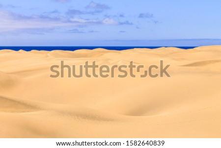 golden sand dune horizons view #1582640839