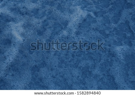 Sea Water with foam. Nature concept 2020. Color of the year 2020 #1582894840