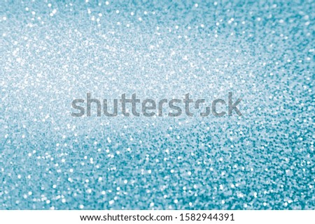 2020 abstract festive trendy christmas background trendy aqua menthe holographic with beautiful cyan tone texture and bokeh effect #1582944391