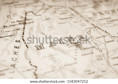 USA map background travel texture #1583047252
