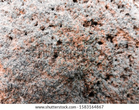 In geology, rock (singular) is a solid or solid object containing natural minerals and or mineraloids. #1583164867