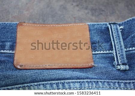 Denim. jeans texture. Jeans background. Denim jeans texture or denim jeans background. #1583236411