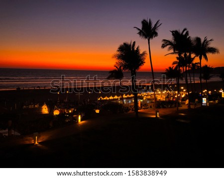 A beautiful place with a beautiful sky. One of the most popular places in Mexico. #1583838949