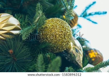 Christmas decorations; Xmas decoration background #1583896312