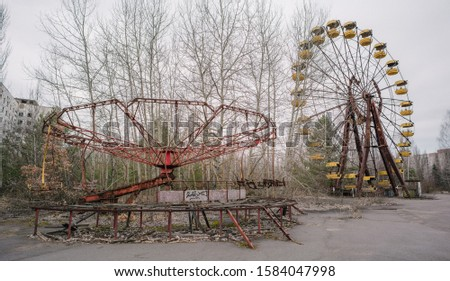 Chernobyl, and Pripyat located in Ukraine. #1584047998