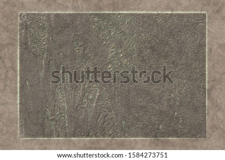 Vintage metal work- 3D illustration. Abstract texture- iron grunge. Background weathered- wall design #1584273751