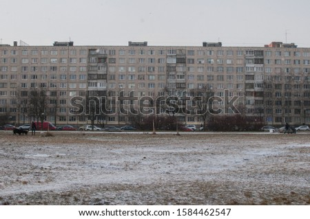 Leningrad, Soviet architecture of residential buildings in residential areas #1584462547