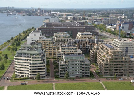 Amsterdam, North Holland – August 17, 2019: Architecture, Canals and Cityscape in Amsterdam, North Holland, The Netherlands, Europe   #1584704146