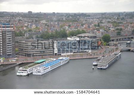Amsterdam, North Holland – August 17, 2019: Architecture, Canals and Cityscape in Amsterdam, North Holland, The Netherlands, Europe   #1584704641