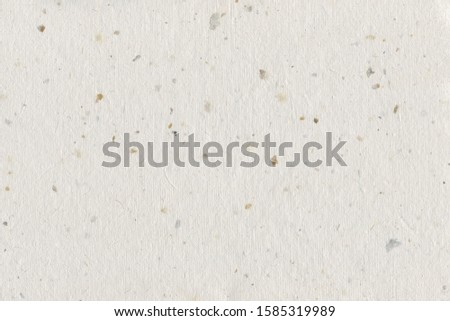 Natural Decorative Recycled Spotted Beige Grey Taupe Tan Brown Spots Paper Texture Background Horizontal Handmade Rough Rice Straw Craft Textured Macro Closeup Pattern Blank Empty Vintage Copy Space #1585319989
