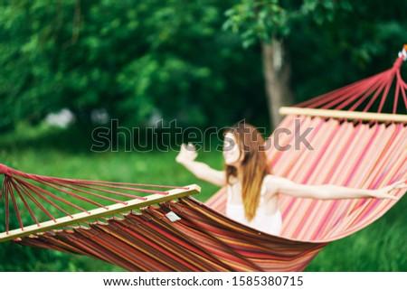 Beautiful woman nature vacation travel vacation #1585380715