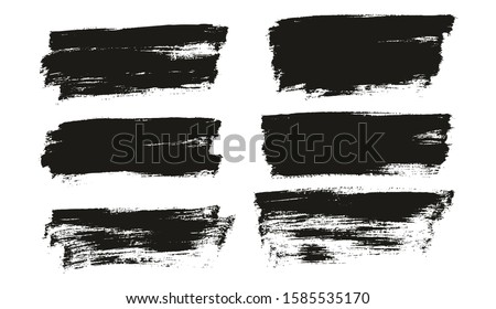 Flat Paint Brush Thin Full Background High Detail Abstract Vector Background Set 26 #1585535170