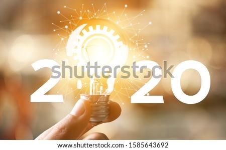 Concept of idea and innovation Creative idea concept #1585643692