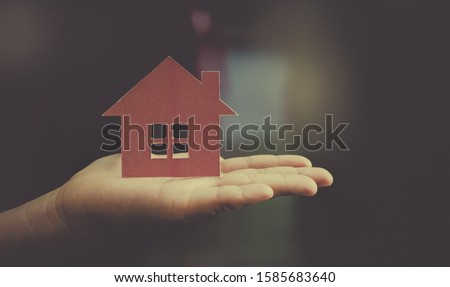 Home loans concept of having a dream home. #1585683640