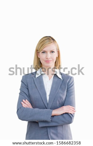 Cut Out Of Middle Aged Female Executive #1586682358