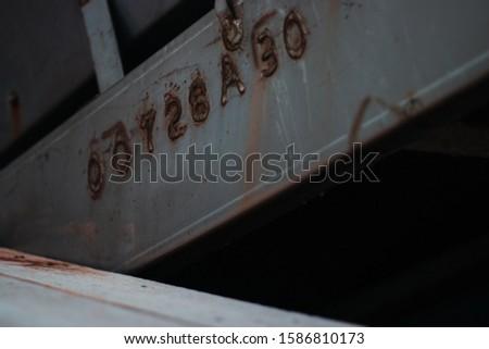 Grain conveyer belt rust beam #1586810173