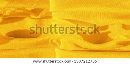 Texture, background, silk fabric, yellow woman's handkerchief; Design-friendly wallpaper design for your projects. #1587212755