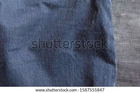 jeans texture. Jeans background. Denim jeans texture or denim jeans background. #1587555847