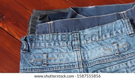 jeans texture. Jeans background. Denim jeans texture or denim jeans background. #1587555856