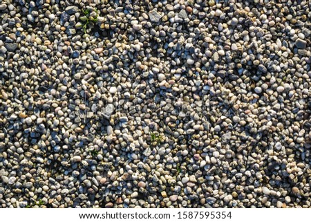 Small fine stones, texture, background #1587595354