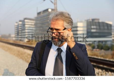 senior model senior senior men business business man #1587703336