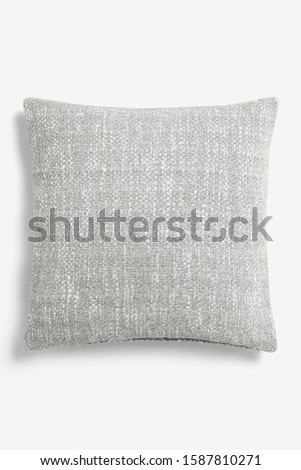 close-up of cushion pillow. cushion pillow isolated. #1587810271