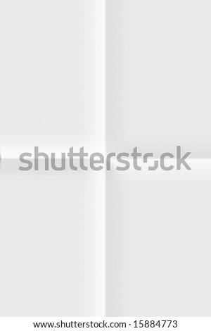 White folded paper background #15884773