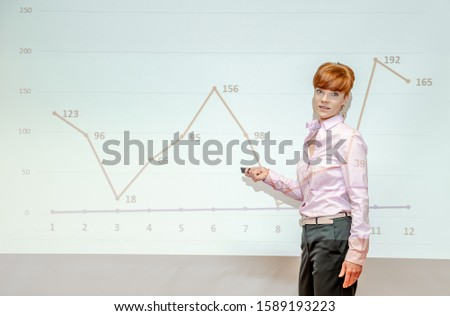 analysis of the company results on the company meeting on the graph example #1589193223