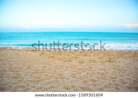 Lamai beach Koh Samui in Thailand  #1589301604