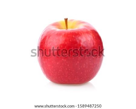 apple isolated on white background #1589487250