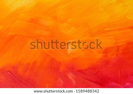 art  painted background texture red and orange