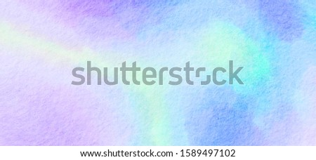 Watercolor Sweet pastel. gradient background Colorful Paint like graphic.  Color glossy. Beautiful painted Surface design abstract backdrop. ideas graphic design banner and have copy space for text #1589497102