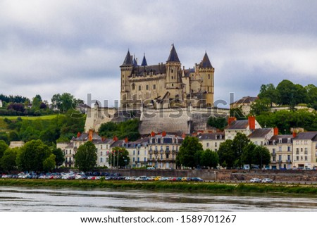 Medieval castle of Saumur, Loire Valley, France #1589701267