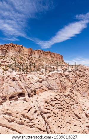 Panoramic view at Canyon Anaconda in Bolivia #1589813827